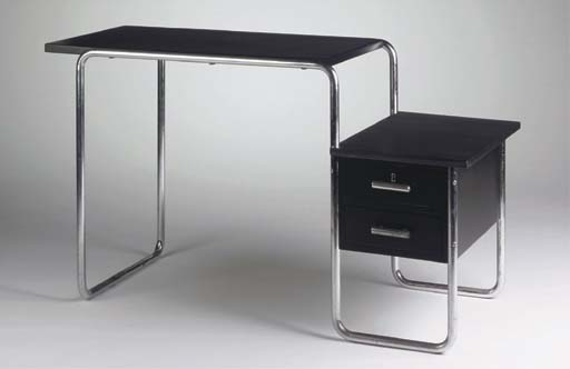 B91, a black lacquered wooden