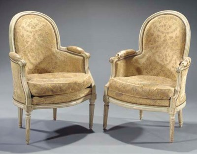 A matched pair of Louis XVI gr