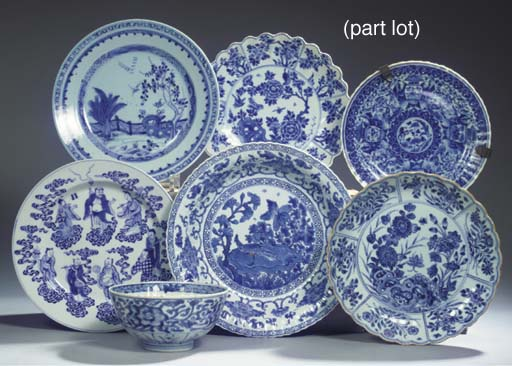 (14) An assorted lot of Chines