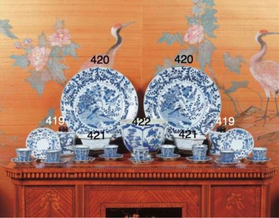 (2) A large pair of Chinese bl