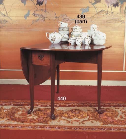 A Dutch mahogany gateleg table