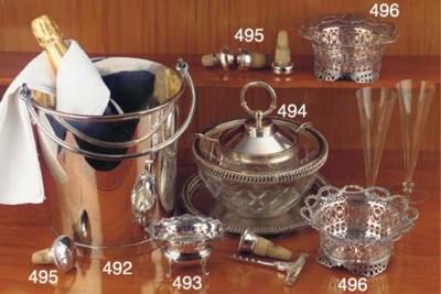 (12) A Belgian silver hors-d'o