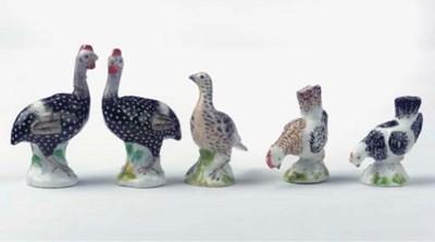 (5) Five Meissen porcelain min