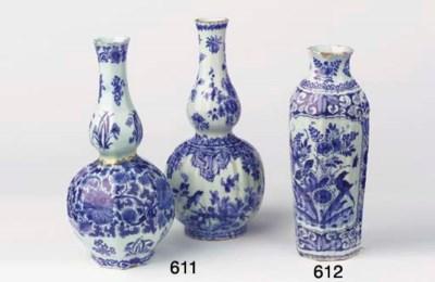 A Dutch Delft blue and white r