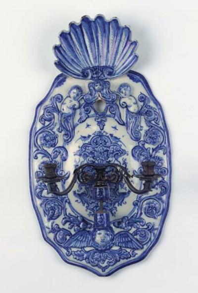 (2)  A large Dutch Delft blue