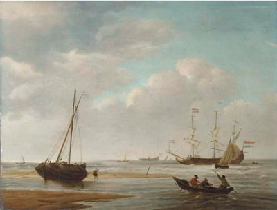 Follower of Willem van de Veld
