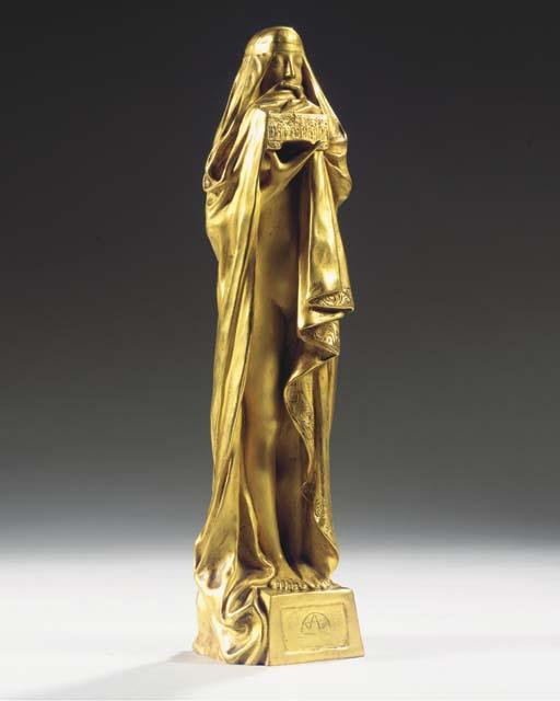 Cast from a model by Pierre Fix-Masseau (French, 1869-1937)