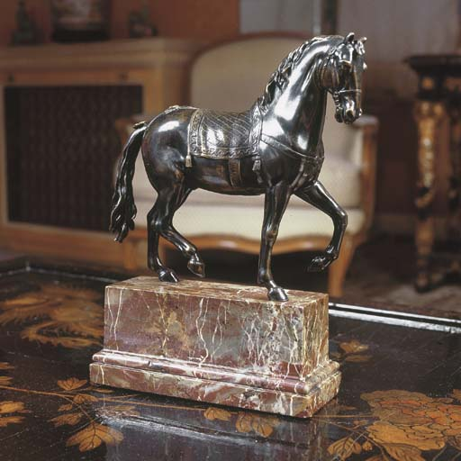 A FRENCH BRONZE MODEL OF A PAC