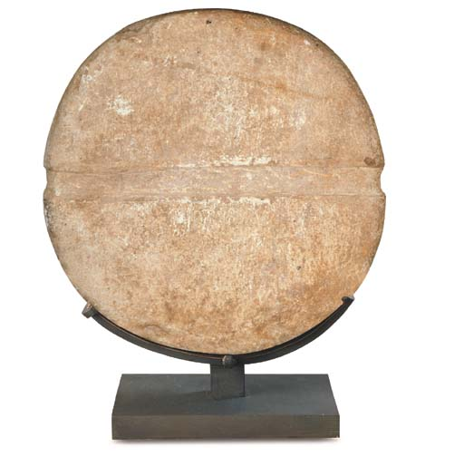 A BACTRIAN MARBLE 'DISC'
