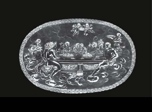 A German silver plaquette