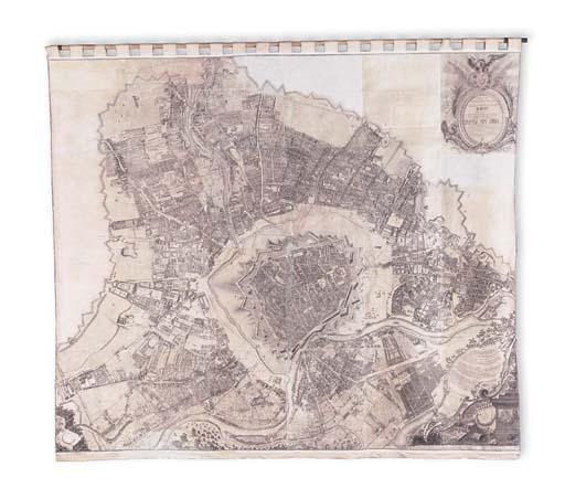 VIENNA WALL MAP. SCENOGRAPHIE