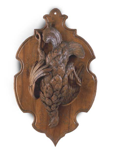 AN AUSTRIAN OF GERMAN CARVED W