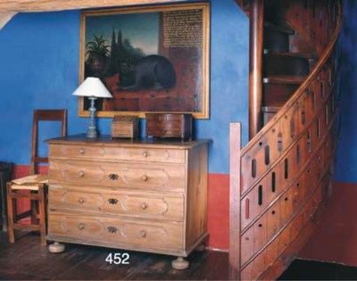 A FRENCH PROVINCIAL WALNUT CHE