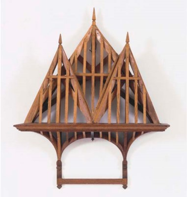 A FRENCH WOOD ARCHITECTURAL MO