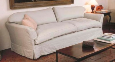 AN UPHOLSTERED 'ERIC' SOFA