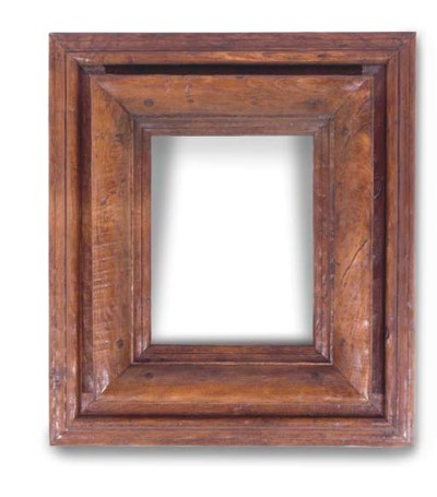 AN OAK PICTURE FRAME