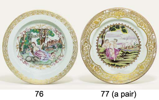 A RARE FAMILLE ROSE MEISSEN-ST