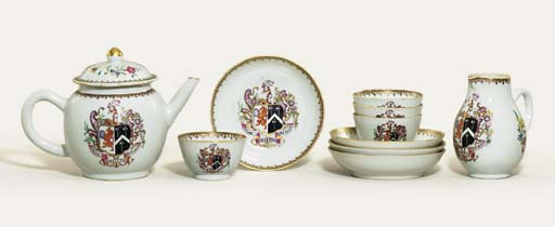 A FAMILLE ROSE ARMORIAL PART T