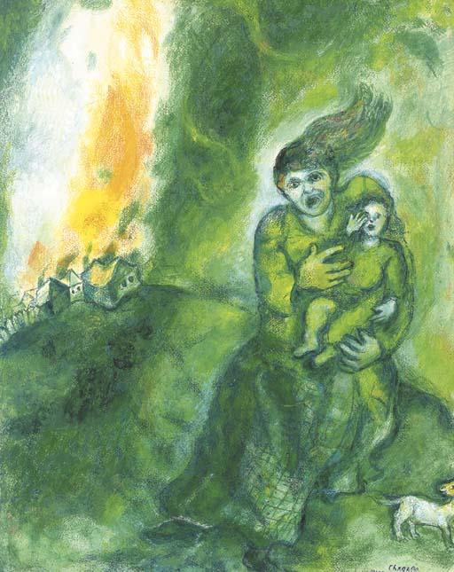 Marc Chagall ((1887-1985)
