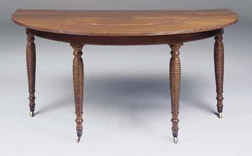 A REGENCY MAHOGANY WINE-TABLE