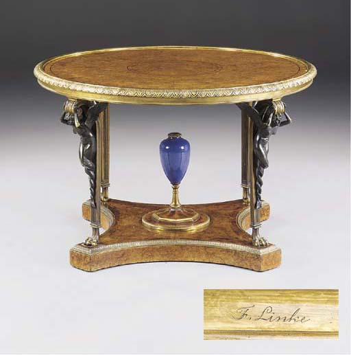 A Louis XVI style ormolu and p