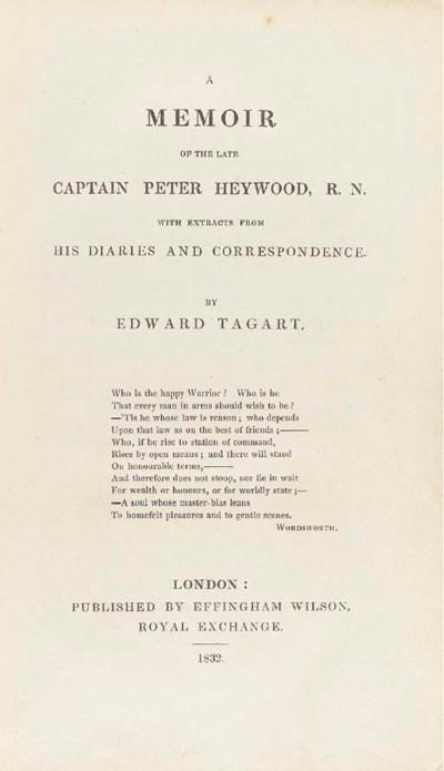 [HEYWOOD, Peter]. - TAGART, Ed