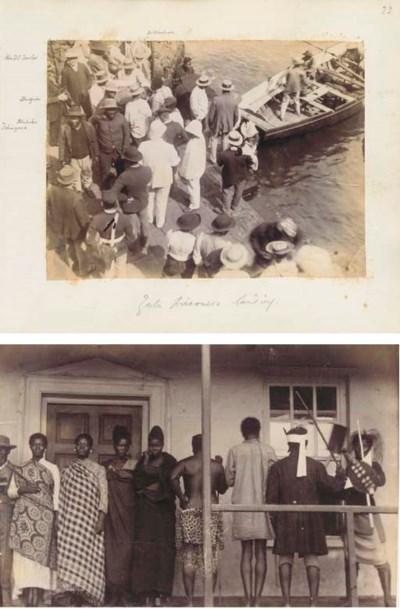 ST. HELENA, 1889-1890 - An alb