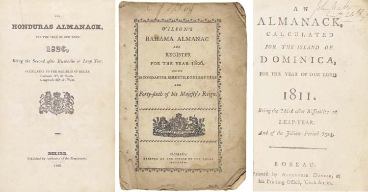 WEST INDIES ALMANACS - Wilson'