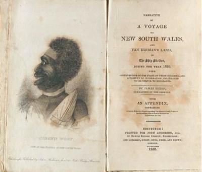 DIXON, James (1788-1871). Narr