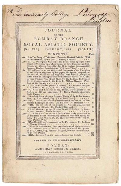BURTON, Richard Francis. Notes