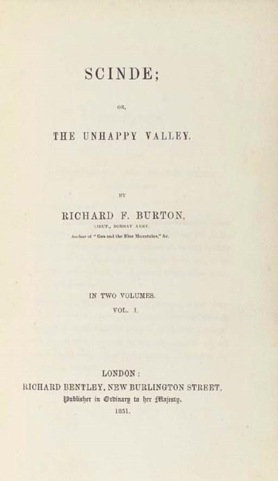 BURTON, Richard Francis. Scind