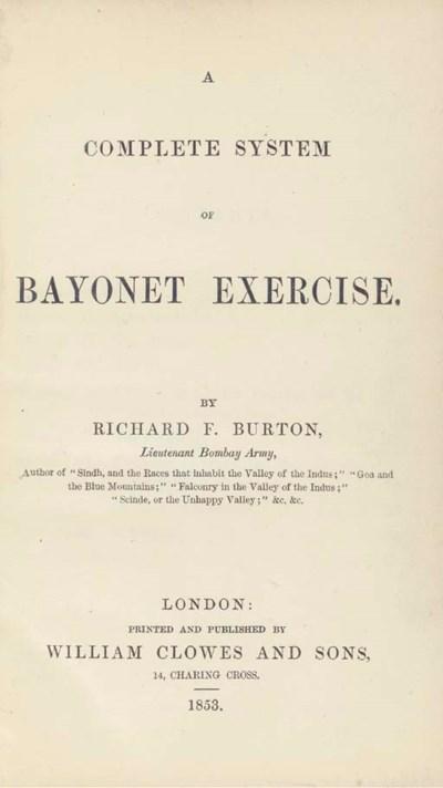 BURTON, Richard Francis. A Com