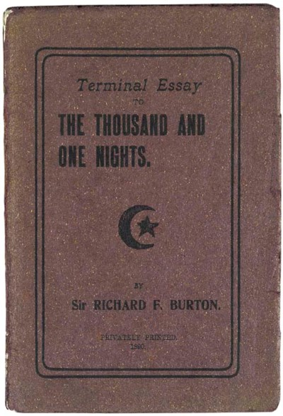 BURTON, Richard Francis.  Term