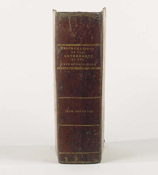 [CAPE COLONY]. Proclamations,