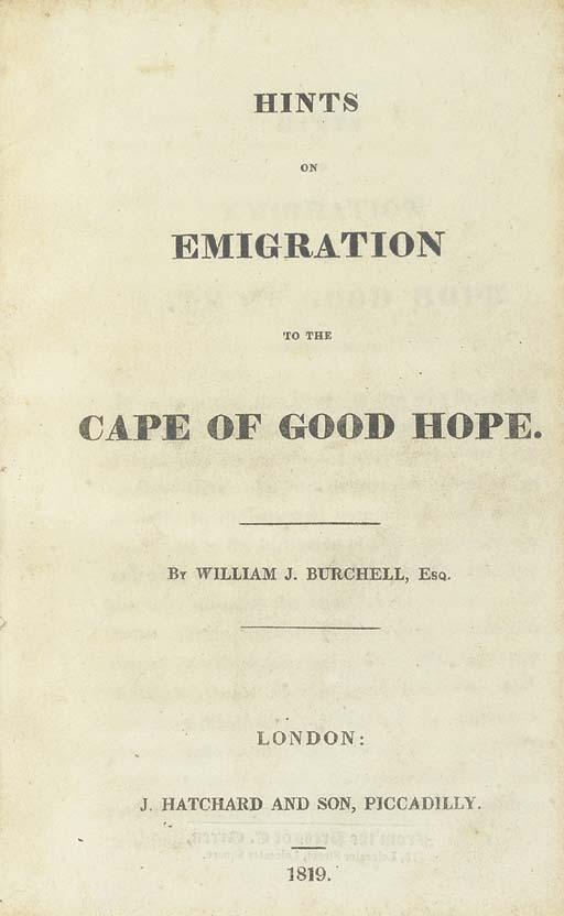 BURCHELL, William John (1782-1