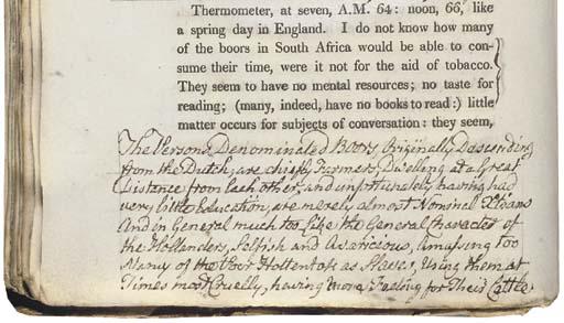 CAMPBELL, John (1766-1840). Tr