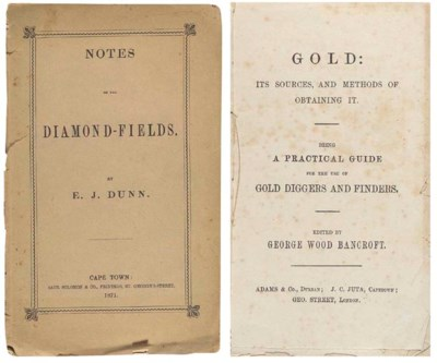 GOLD AND DIAMOND FIELDS. - Aug