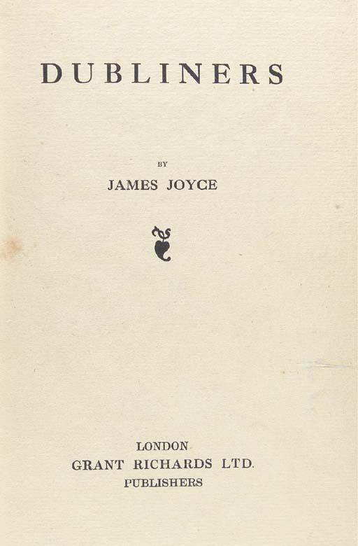 JOYCE, James. Dubliners. Londo