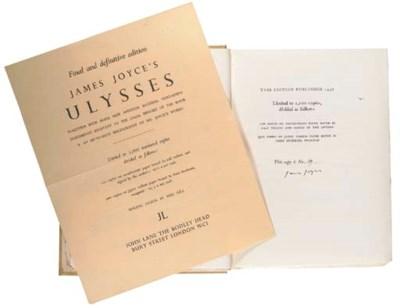 JOYCE, James. Ulysses. London: