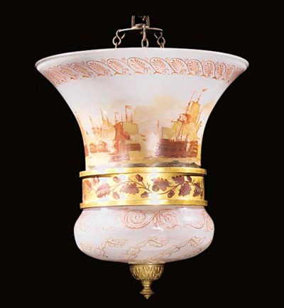A REGENCY ORMOLU-MOUNTED PAINT