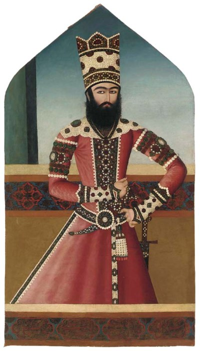 PORTRAIT OF HASAN 'ALI MIRZA S