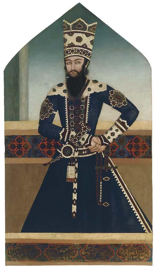PORTRAIT OF SHAYKH 'ALI MIRZA