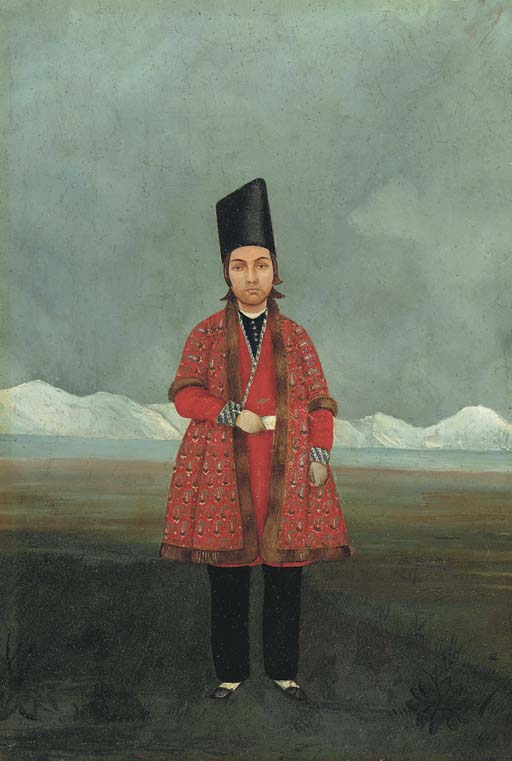 PORTRAIT OF A YOUNG PRINCE, POSSIBLY NASIR AL-DIN MIRZA