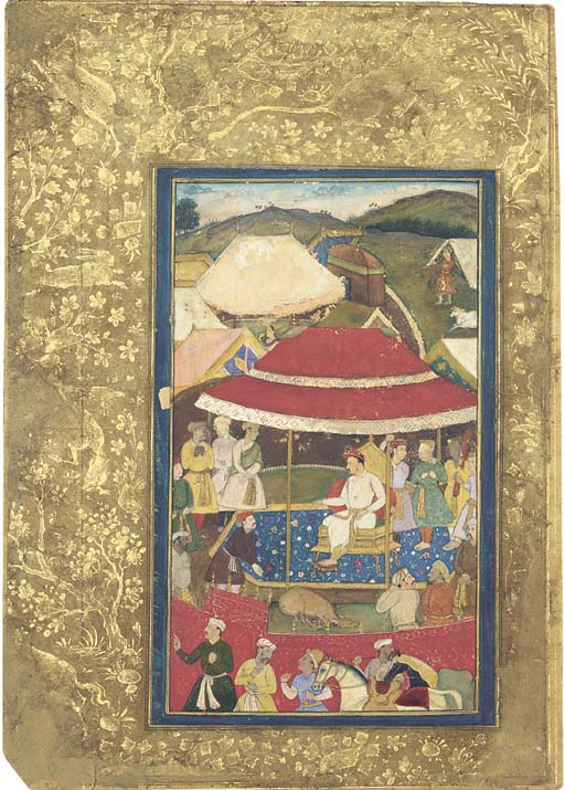 THE EMPEROR JAHANGIR AT A HUNT