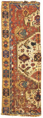 AN ANATOLIAN MEDALLION CARPET