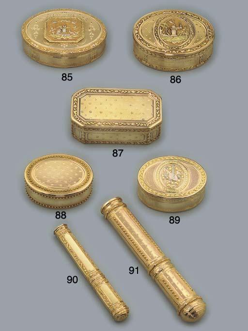 A LOUIS XVI GOLD SEALING-WAX C