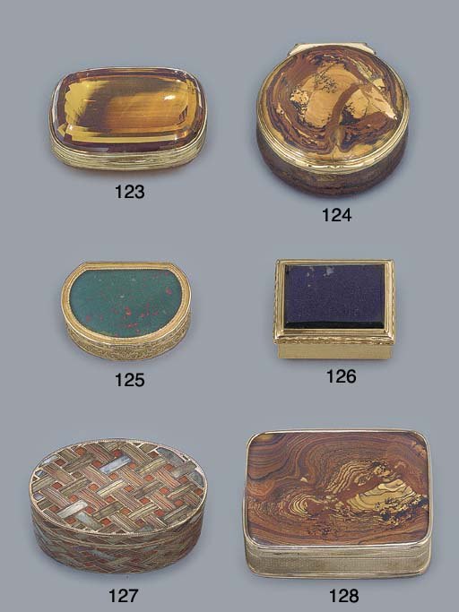 A REGENCY HARDSTONE AND GOLD S