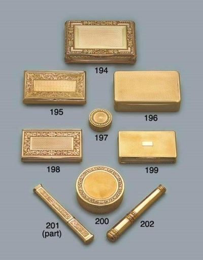 A SWISS GOLD SNUFF-BOX