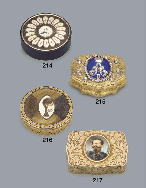 A GERMAN DIAMOND-SET AND PARCE