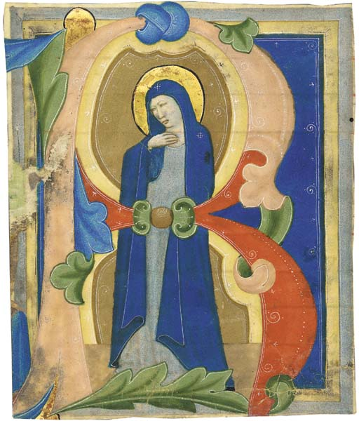 BLESSED VIRGIN MARY, historiat